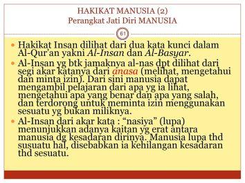 HAKIKAT+MANUSIA+(2)+Perangkat+Jati+Diri+MANUSIA
